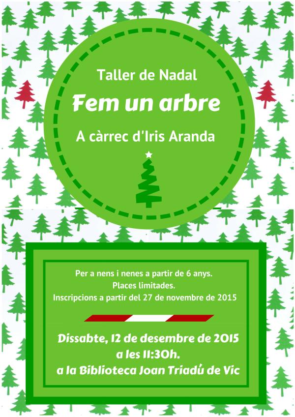 taller arbre de nadal 2015